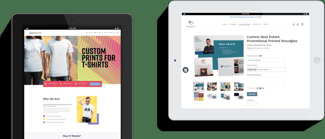 ecommerce website development portfolio